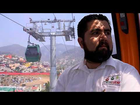 News Update Flying over the traffic - Mexico City's urban cable car 17/08/17