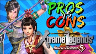 Pros vs. Cons | Dynasty Warriors 5