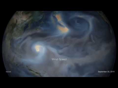Tracking Typhoon Phanfone from Japan to the U.S.