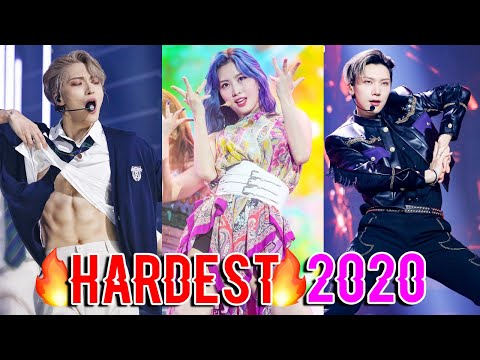 THE HARDEST KPOP DANCES OF 2020