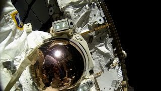 The extravehicular spacesuit - Horizon Tim Peake Special: How to be an Astronaut Preview - BBC Two