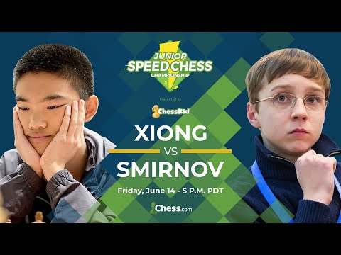 Jeffery Xiong vs Anton Smirnov: 2019 Junior Speed Chess Championship