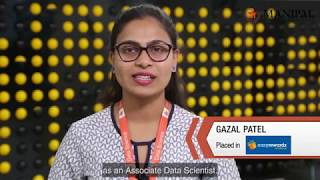 PG Diploma in Data Science - Students' Speak: Placements
