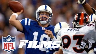 #7 Peyton Throws 5 TDs in First Win (