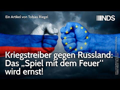 """Kriegstreiber gegen Russland: Das """"Spiel mit dem Feuer"""" wird ernst"""