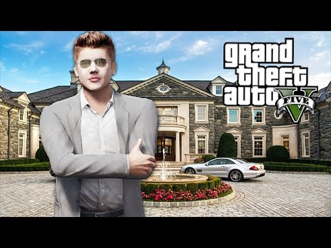 JUSTIN BIEBER IN GTA 5!! (GTA 5 Mods)