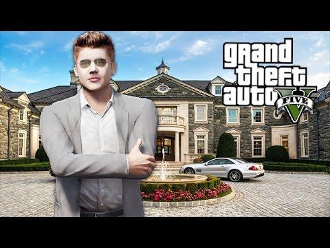 JUSTIN BIEBER IN GTA 5!! (GTA 5 Mods)