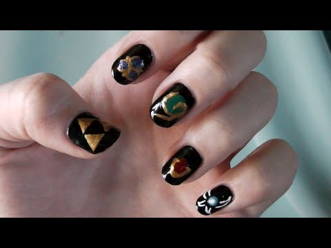Legend Of Zelda Ocarina Time Nails