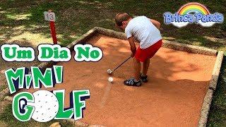 Um dia no Mini Golf Penha em Guimarães / Видео