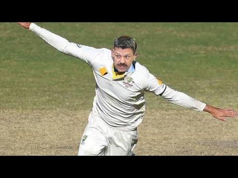 Brian Taylor Commentates Cricket