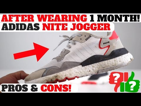 30f062fa0f029 1 MONTH AFTER WEARING  adidas NITE JOGGER PROS   CONS REVIEW! Buy Adidas  Nite Jogger here https   bit.ly 2TW95Op. Buy Iniki Boost here  https   bit.ly  ...