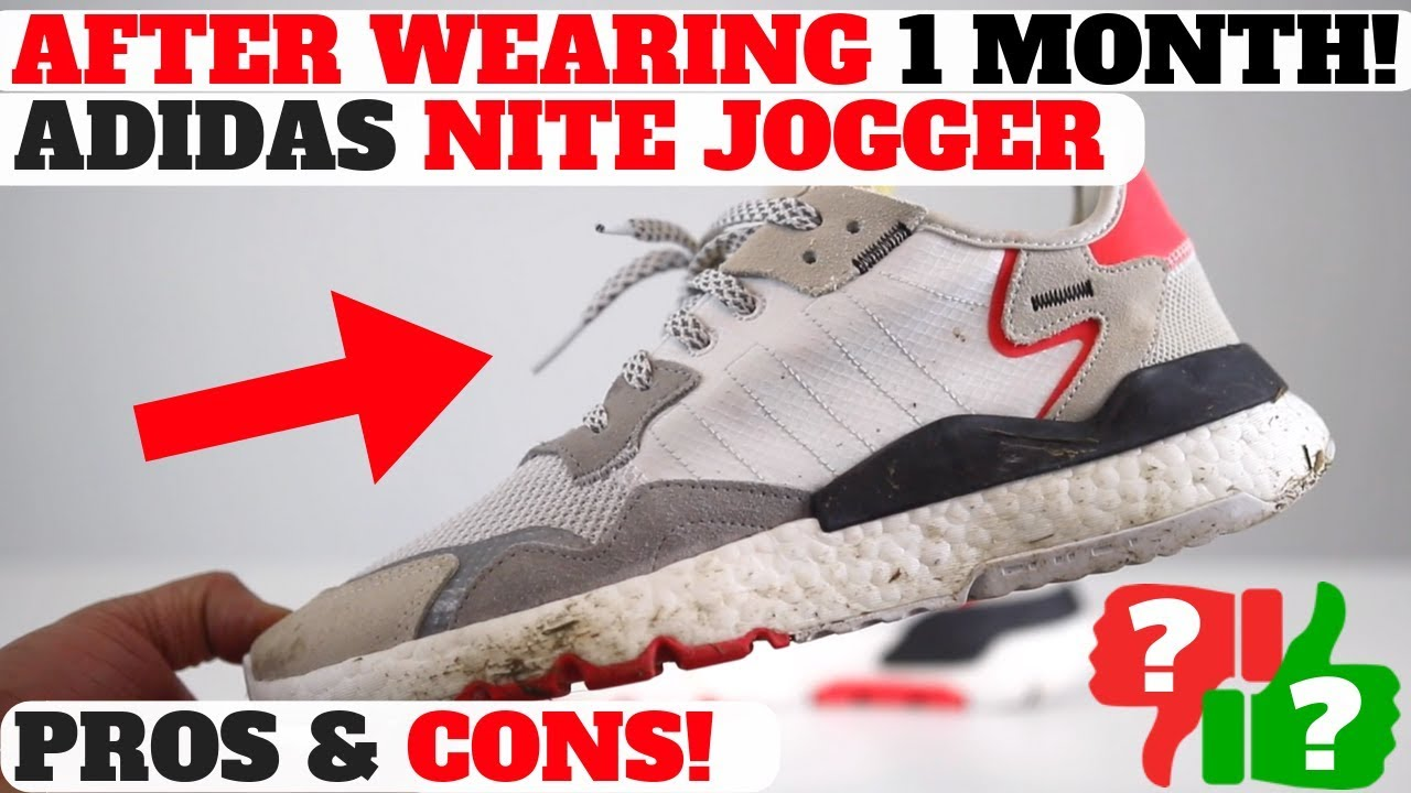 AFTER WEARINGadidas PROSCONS JOGGER 1 REVIEW MONTH NITE 0OXNn8wPk