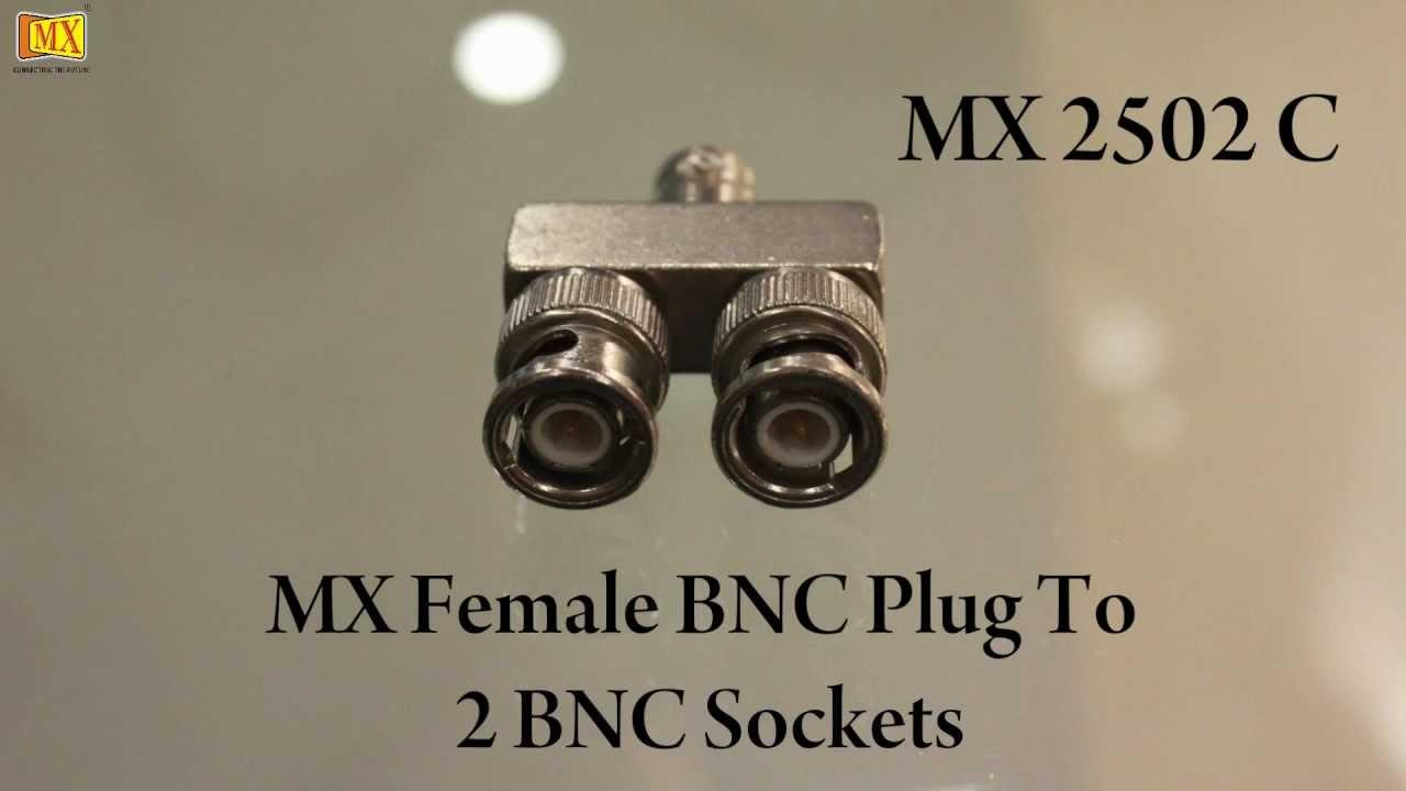 Монтаж BNC разъема на кабель - YouTube