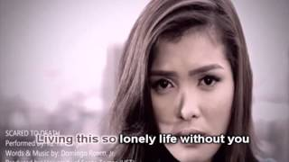 KZ Tandingan - Scared To Death (Karaoke)