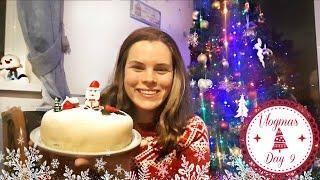 Decorating My Christmas Cake, Lush Bath Bomb and Christmas Pudding | Vlogmas Day 9 | Jenny E