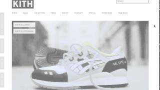 Kith NYC Add to Cart Bot