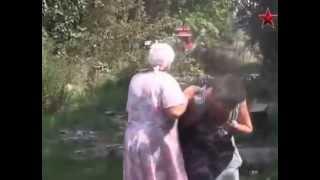 Без комментариев – жительница Первомайска прощается с родными