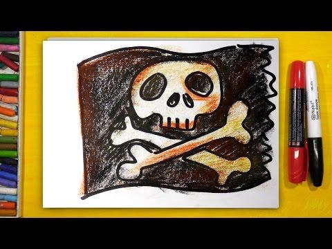 Как раскрасить пирата