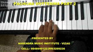 pachha bottu song tutorial from bahubali