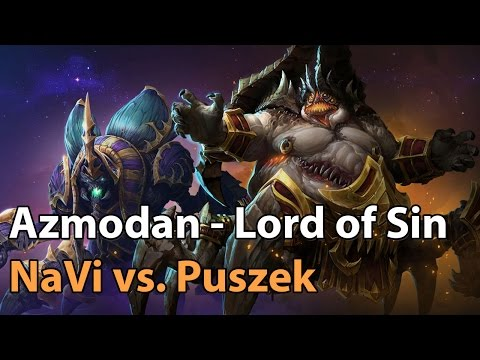 ► Heroes of the Storm Pro Gameplay: NaVi vs. Puszek - Tomb of the Spider Queen