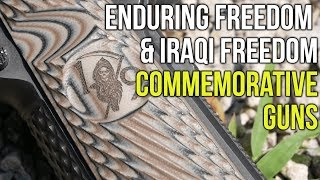 Etched in Steel, Commemorating Operations Enduring Freedom & Iraqi Freedom