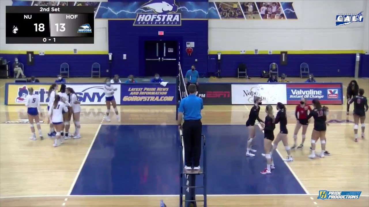 VB: Hofstra vs. Northeastern Highlights (3/5/21)
