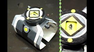 Omnitrix (Original) Ben 10 Like Real with Aliens Interface / Alien Viewer -DIY