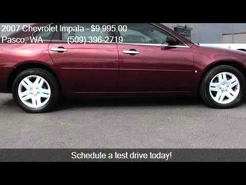 2007 chevrolet impala ltz 4dr sedan for sale in pasco wa 99 youtube. Black Bedroom Furniture Sets. Home Design Ideas