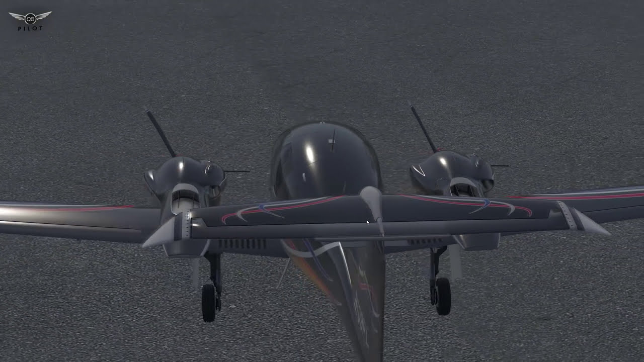 [X-Plane] Aerobask Diamond Da-62 | Full Review  Q8pilot 14:20 HD