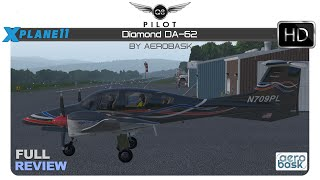 [X-Plane] Aerobask Diamond DA-62 | Full Review