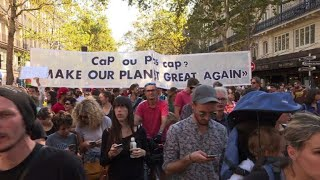 Forte mobilisation pour les Marches pour le climat en France