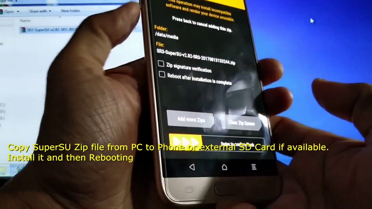 How to Flash TWRP Recovery and Install SuperSU Root File on Samsung Galaxy
