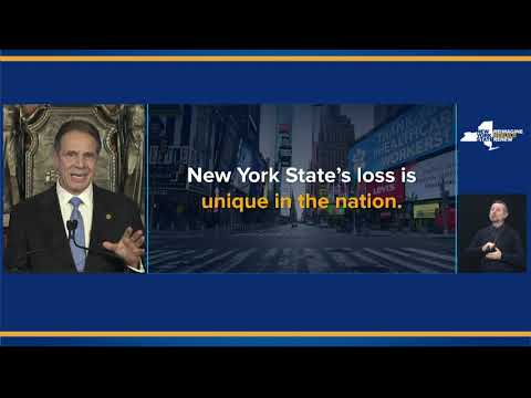New York Gov. Andrew Cuomo lays out the 2022 budget.
