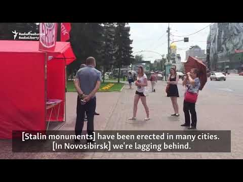 Citizens of the Russian Federation and their opinions of Comrade Stalin.