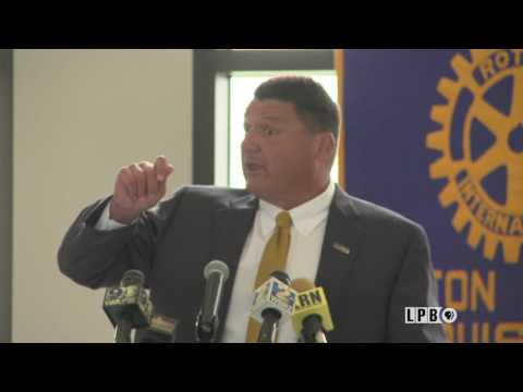 Newsmakers - 07/26/17 - Ed Orgeron, LSU Head Football Coach