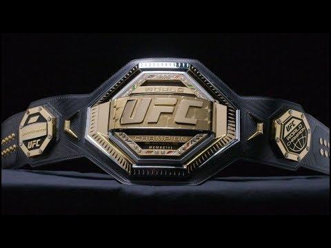 Dan Joyce - UFC Reveals New Legacy Championship Belt