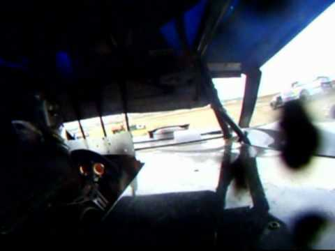 IMCA Modified in-car cam at Stuart Speedway
