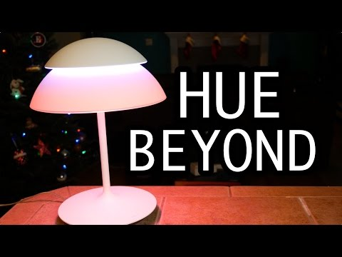 Philips Hue Beyond Review [LED Lamp + Millions of Colors!]