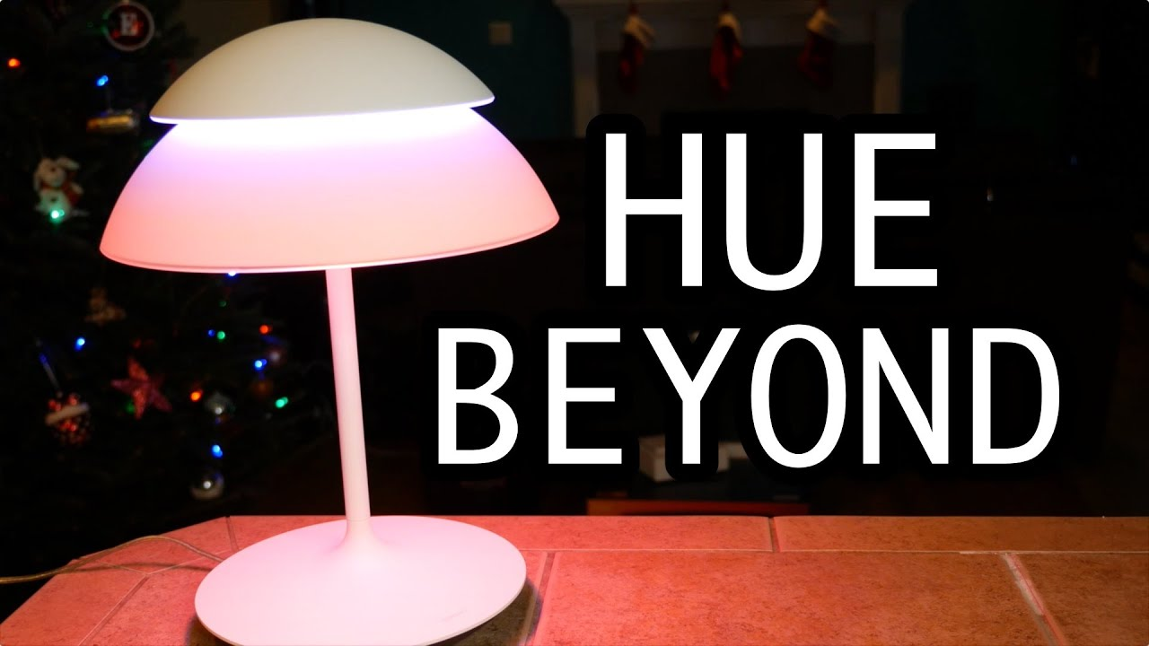 philips hue beyond review led lamp millions of colors youtube. Black Bedroom Furniture Sets. Home Design Ideas