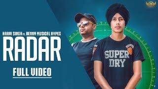 Radar   Harvi Singh   Benny Musical Hypes   Latest Punjabi Song 2018
