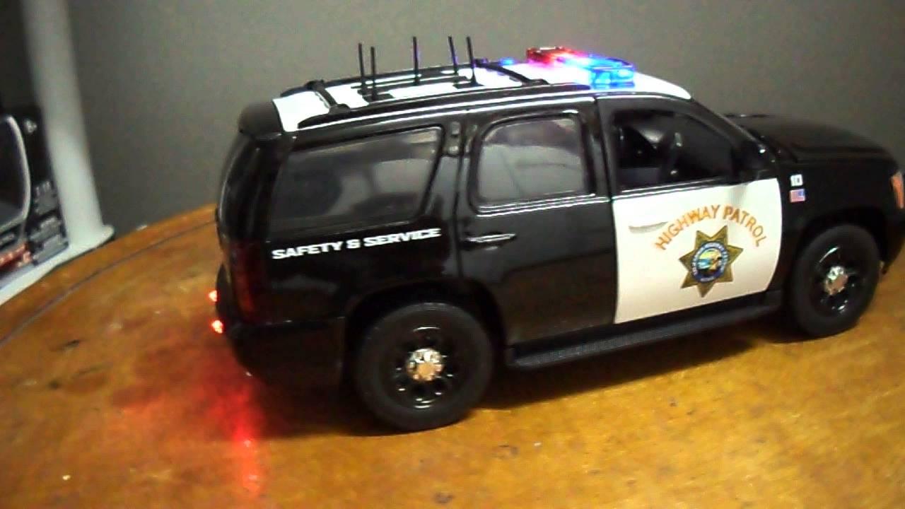 1 24 California Highway Patrol Chevy Tahoe Chp Quot Working