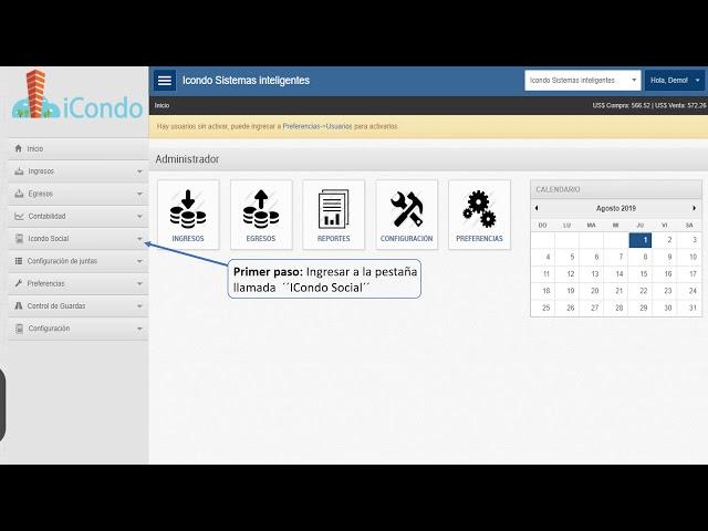 Como crear un invitado - iCondo Administración de Condominios