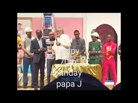 JJ Rawlings 70th Birthday LIVE