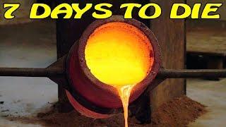 7 Days to Die ► Гайд ► Крафтим печь (16+)