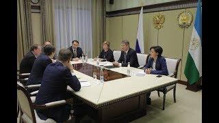 Радий Хабиров встретился с руководителем Рособрнадзора Сергеем Кравцовым
