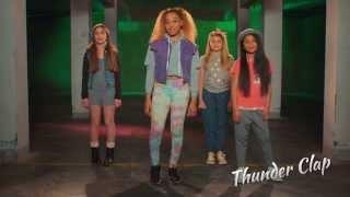ClaireaBella Girls Thunder Clap Dance Tutorial