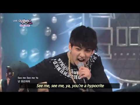 BTS - We Are Bulletproof Pt. 2 & No More Dream (2013.06.29) [Music Bank w/ Eng Lyrics]