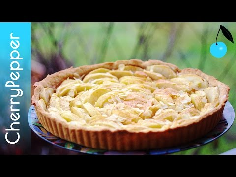 tarte-aux-pommes-végane---pâte-à-tarte-sans-beurre-ni-huile-de-palme---recette-vegan---cherrypepper
