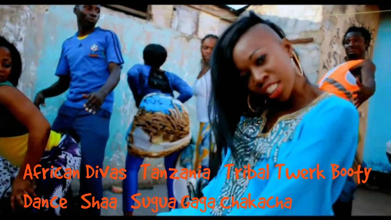 African Divas Tanzania Tribal Twerk Booty Dance Shaa Sugua -4447