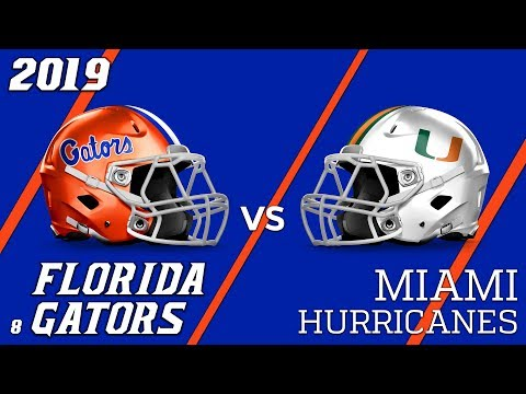 19.1 Florida Gators vs Miami Hurricanes Condensed